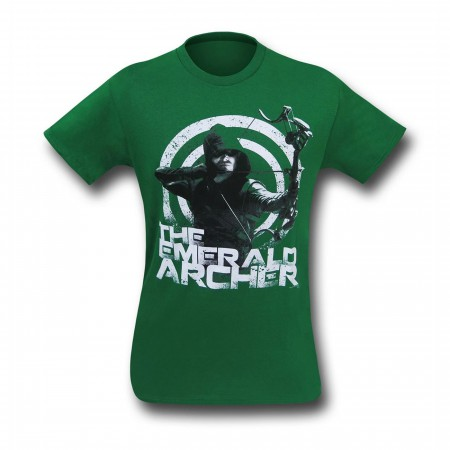 Arrow The Emerald Archer Men's T-Shirt