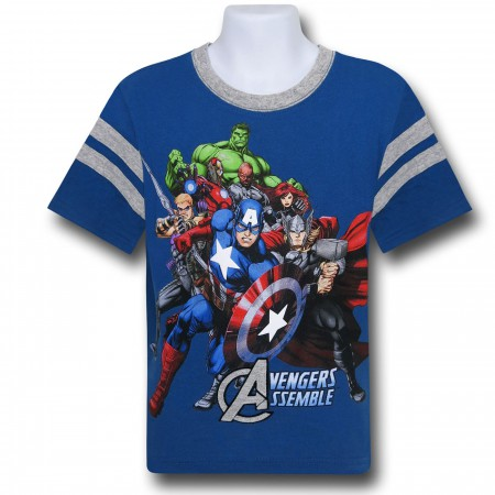 Avengers Assemble Applique Kids T-Shirt