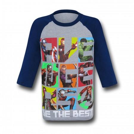 Avengers Best Kids Baseball T-Shirt