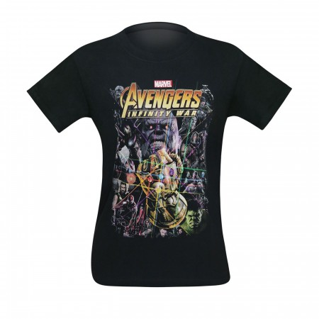 Avengers Infinity War Movie Poster Men's T-Shirt