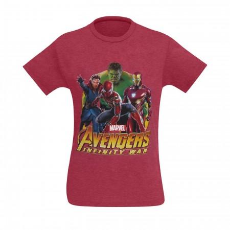 Avengers Infinity War Team Spider-Man Men's T-Shirt