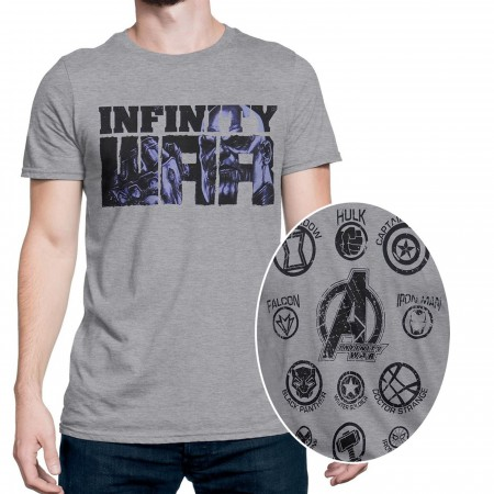 Infinity War Thanos Vs Earth's Mightiest Men's T-Shirt