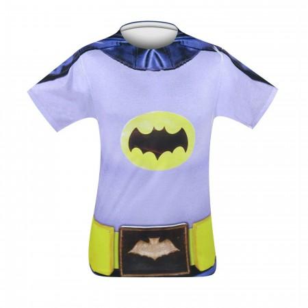 Adam West Batman Costume T-Shirt