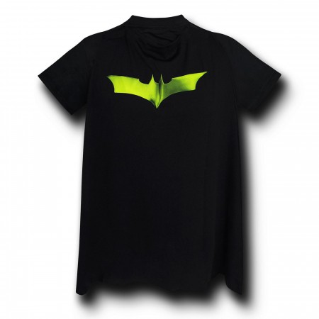 Batman Dark Knight Armor Costume & Cape T-Shirt