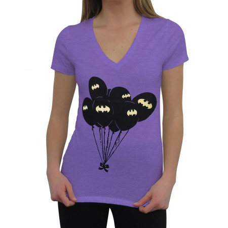 Batman Symbol Balloons Women's T-Shirt