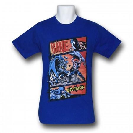 Batman Vs Bane Epic Battle T-Shirt