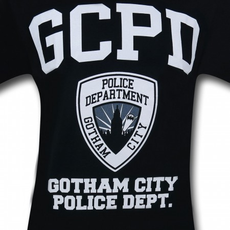 Gotham City GCPD Black & White T-Shirt