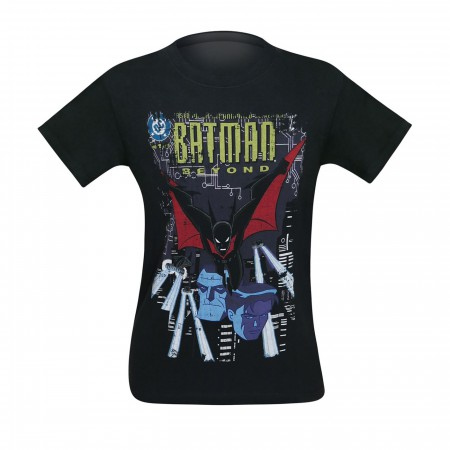 Batman Beyond Distressed #1 Cover Men's T-Shirt