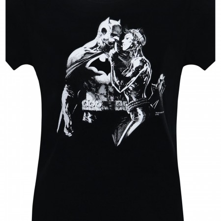 Batman & Catwoman Hush Women's T-Shirt