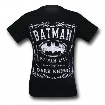 Batman Dark Knight Gotham Logo T-Shirt