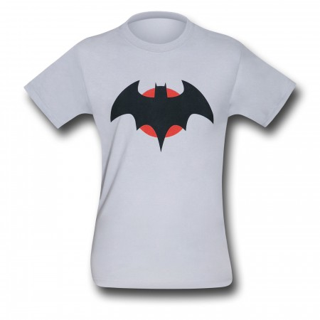 Flashpoint Batman Thomas Wayne Symbol T-Shirt