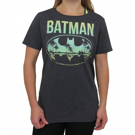 Batman Hollywood Logo Women's T-Shirt