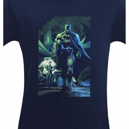 Batman Hush Batcave with Catwoman Men's T-Shirt