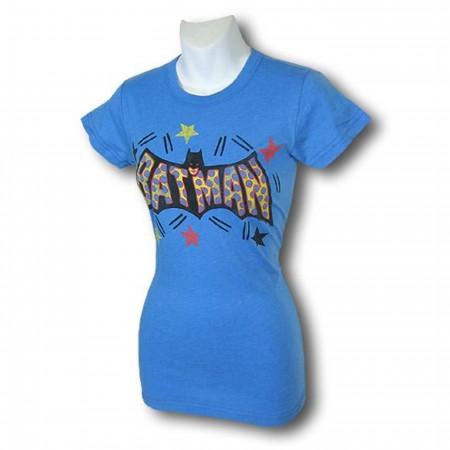 Batman Juniors Confetti Junk Food T-Shirt