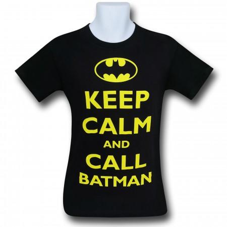 Batman Keep Calm and Call Batman T-Shirt