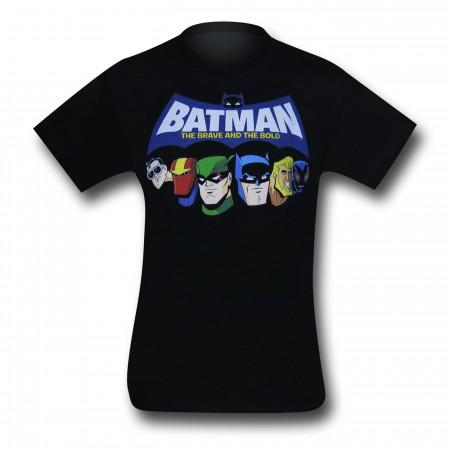Batman Kids Brave And The Bold Heads T-Shirt