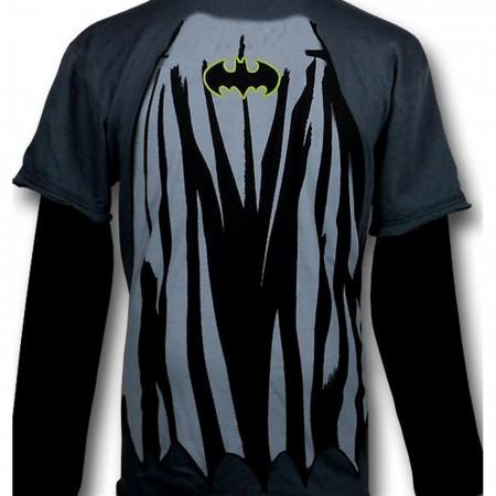 Batman Kids Costume 30s Long Sleeve T-Shirt