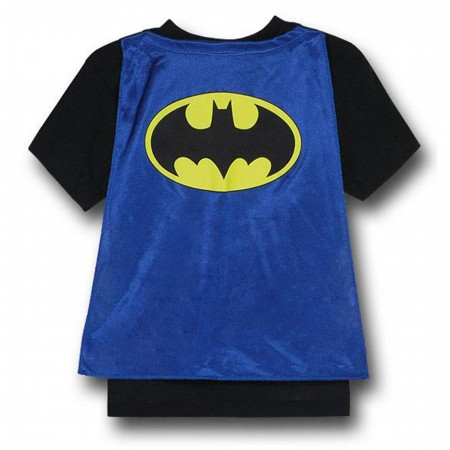 Batman Kids Costume Caped T-Shirt