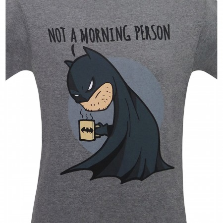 Batman Not a Morning Person Men's T-Shirt
