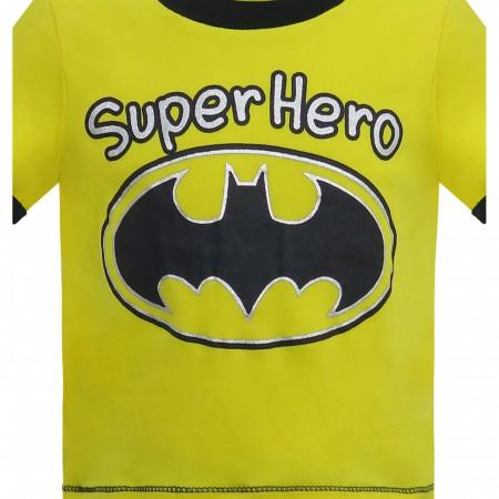 Batman Superhero Night Shift Newborn 3-Piece Set