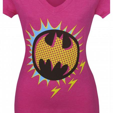 Batman Retro Symbol Women's T-Shirt