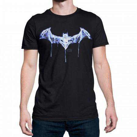 Batman Skeleton Logo Men's T-Shirt