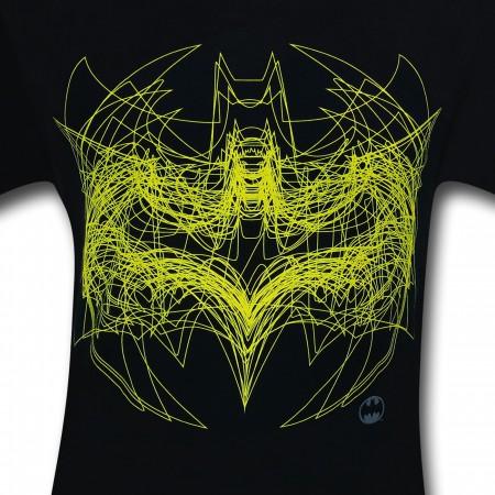 Batman Symbol Outline Overlay T-Shirt