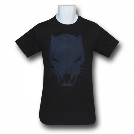 Black Panther Symbol Tone On Tone T-Shirt