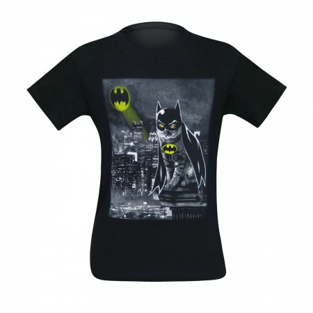 Batman Batcat The Dark Feline Men's T-Shirt