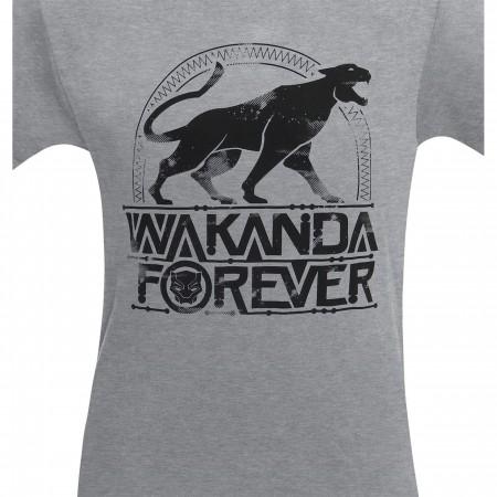 Black Panther Wakanda Forever Men's T-Shirt