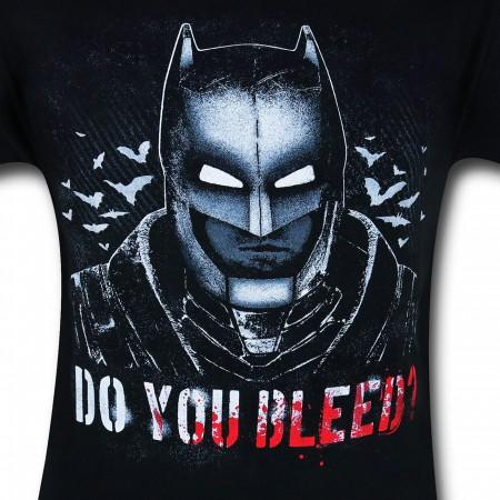 Batman Vs Superman Do You Bleed T-Shirt
