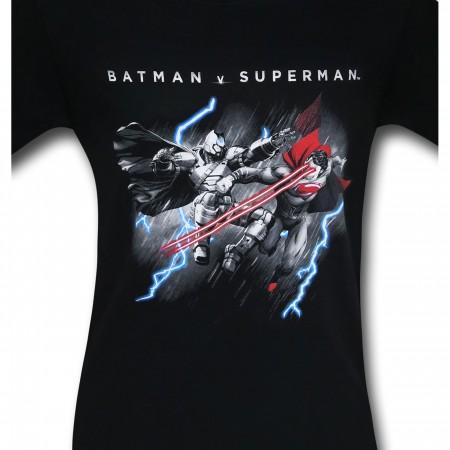 Batman Vs Superman Lasers and Lightning T-Shirt