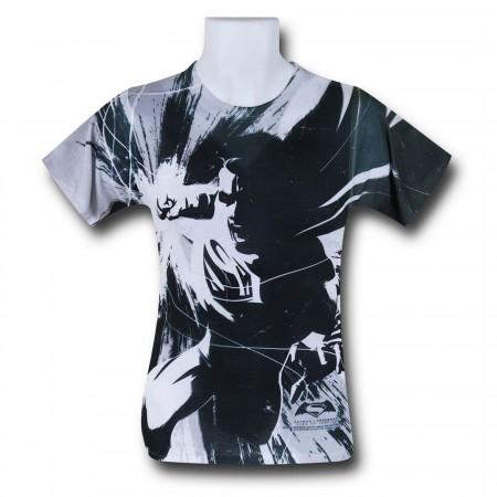 Batman Vs Superman Superman Contrast T-Shirt