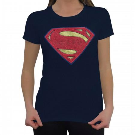BVS Women's Superman Symbol T-Shirt