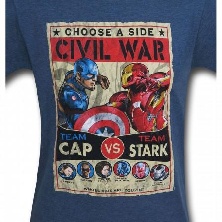 Captain America Civil War Culmination T-Shirt