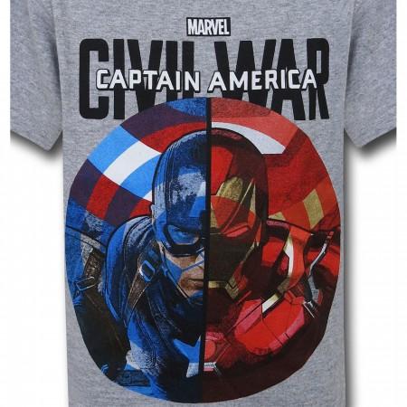 Captain America Civil War Duo Kids T-Shirt
