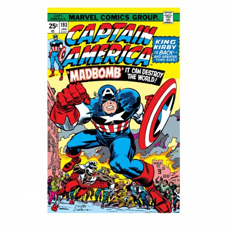 Captain America & Falcon 1976 Men's T-Shirt