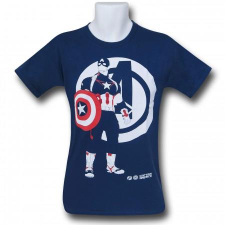 Captain America Avengers AoU Minimalist T-Shirt