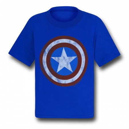 Captain America Shield Symbol Kids T-Shirt