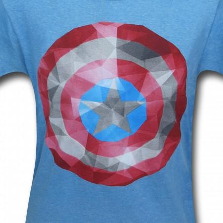 Captain America Crystal Shield T-Shirt