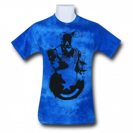 Captain America Tie Dye Stance Men's T-Shirt