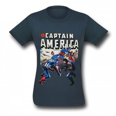 Captain America Winter Soldier 30 Single T-Shirt