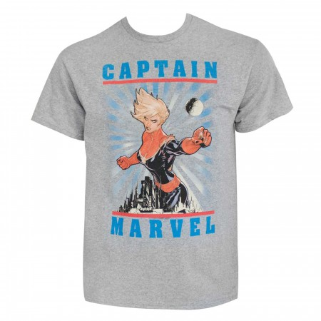 Captain Marvel #5 Wingmen Men's T-Shirt
