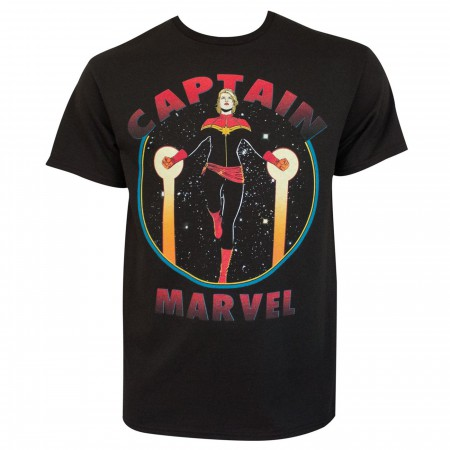 Captain Marvel #9 Vol 7 Returns Home Men's T-Shirt