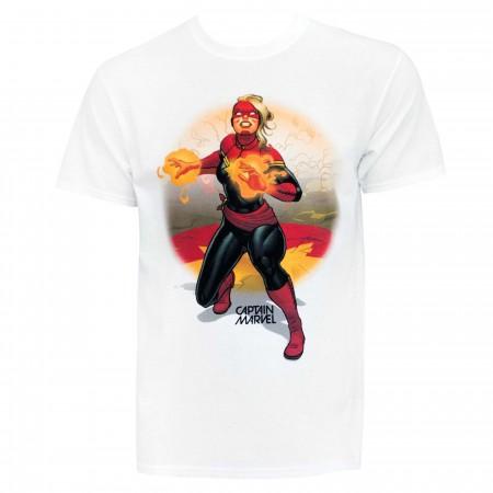 Captain Marvel and the Avengers Men's T-Shirt