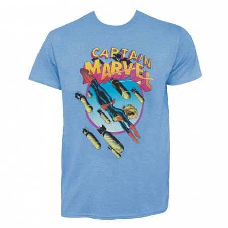 Captain Marvel Earth's Mightiest Hero #3 Men's T-Shirt