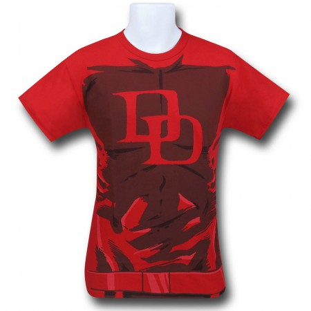 Daredevil Red 30 Single Costume T-Shirt