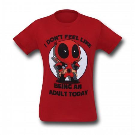 Deadpool Don't Be An Adult T-Shirt