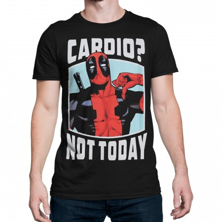 Deadpool Cardio? Not Today Men's T-Shirt