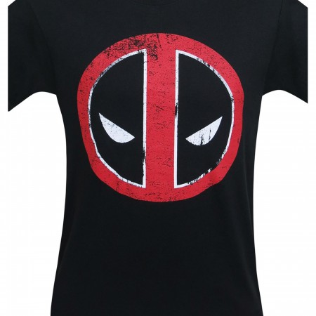 Deadpool Distressed Symbol T-Shirt
